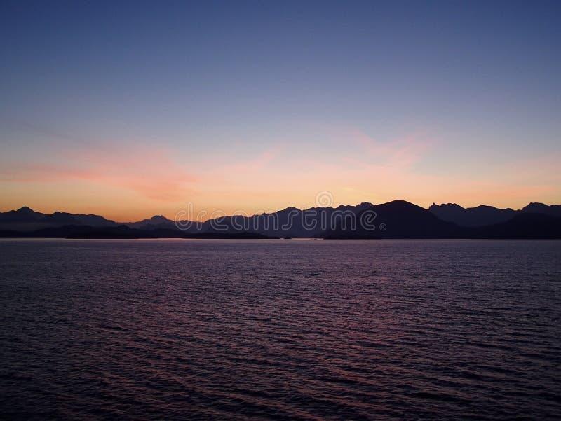 brytyjska kolumbiego wschód słońca obraz royalty free