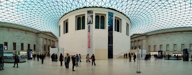 brytyjska muzealna panorama obraz stock
