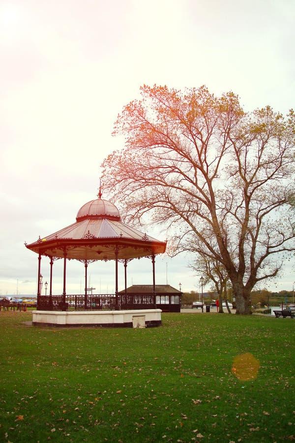 Brytyjska wiejska ogrodowa atmosfera sceniczna zdjęcia royalty free