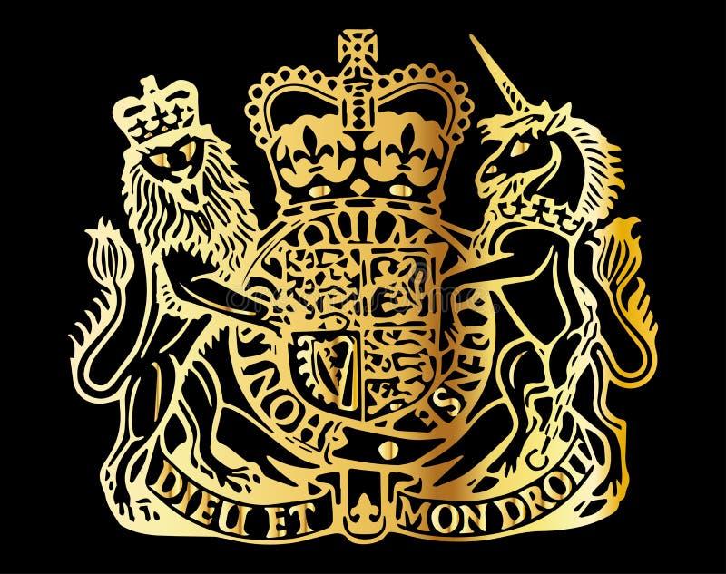 Brytyjski żakiet ręki ilustracji