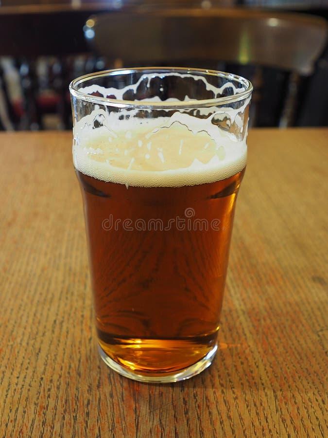Brytyjski ale piwa pół kwarty obrazy stock