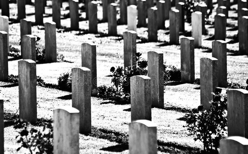 brytyjski cmentarz wojskowy świat to wojna obraz royalty free