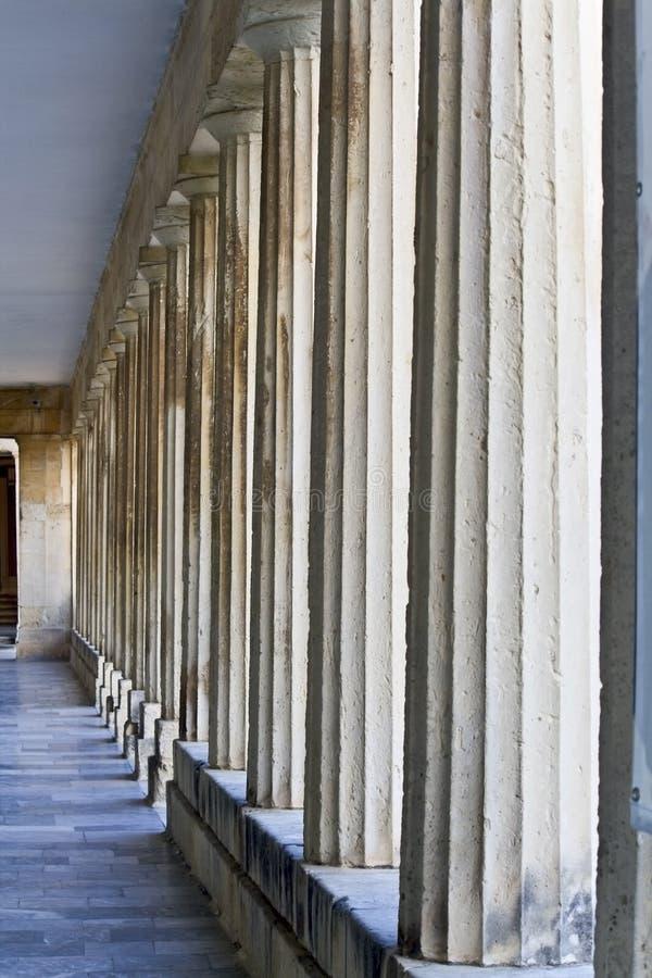 brytyjski Corfu szczegółu pałac widok zdjęcie stock