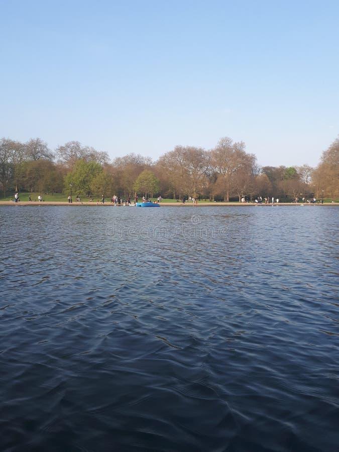 Brytyjski jezioro obrazy stock
