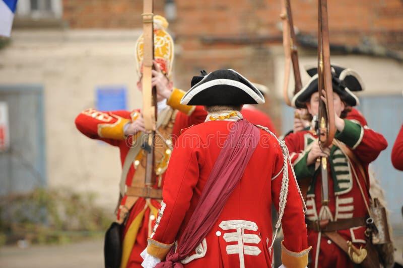 brytyjski oficer armii. fotografia stock
