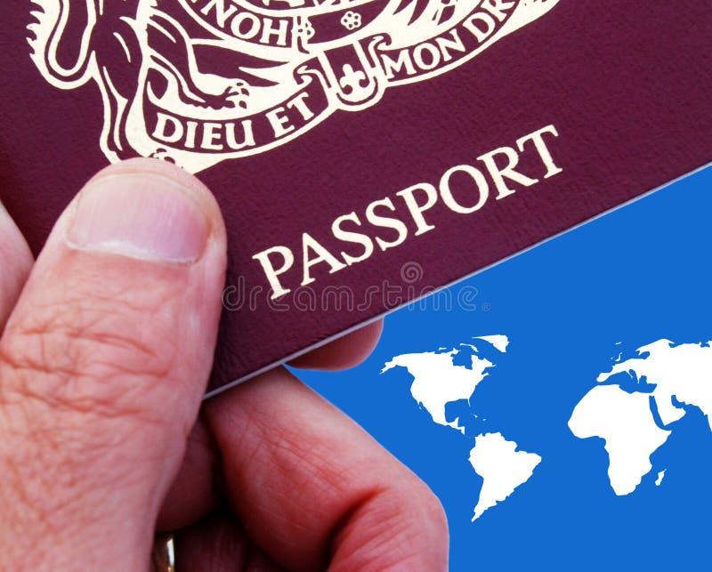 brytyjski paszport zdjęcie royalty free