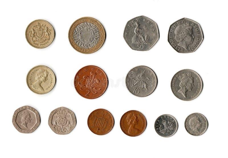brytyjski pieniądze fotografia royalty free