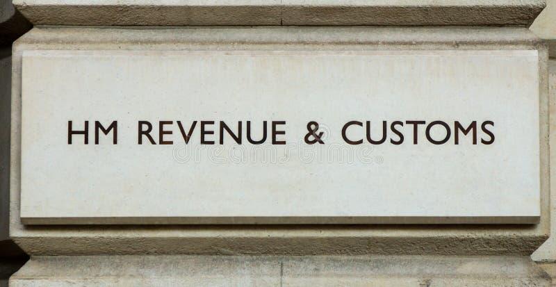 Brytyjski podatku biuro zdjęcie stock