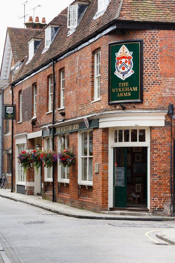 Brytyjski pub fotografia royalty free