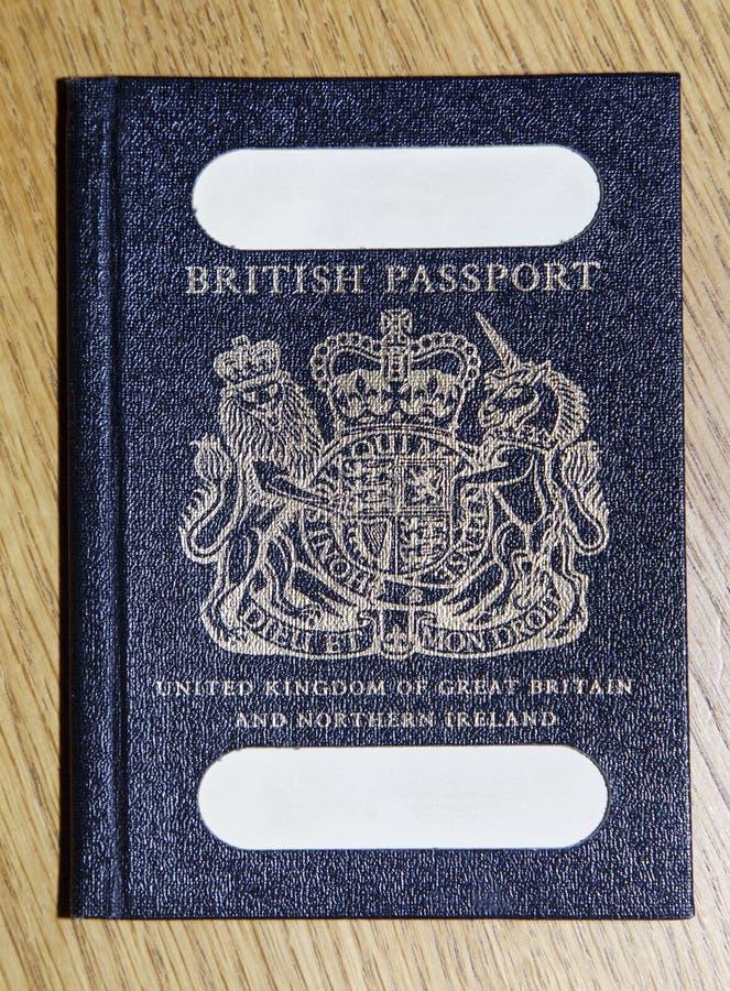 brytyjski stary paszport zdjęcia stock