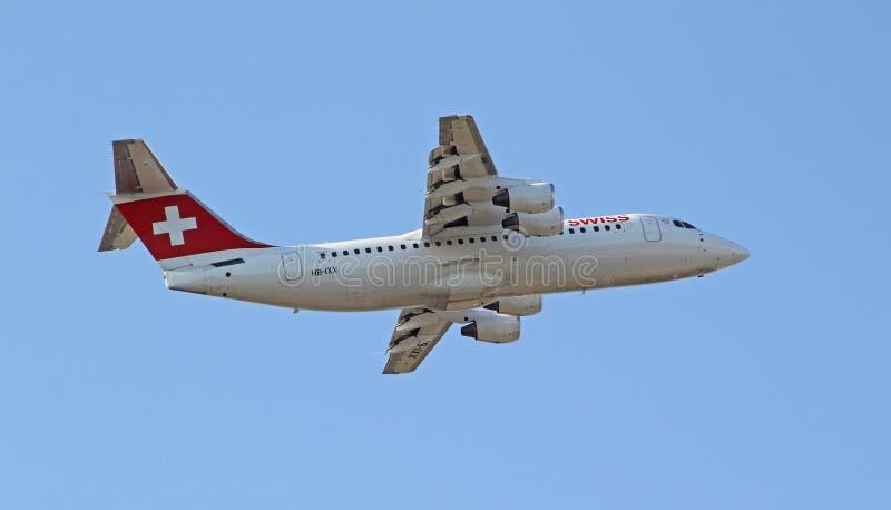 Brytyjskich dróg oddechowych dżetowy samolot zdjęcia stock