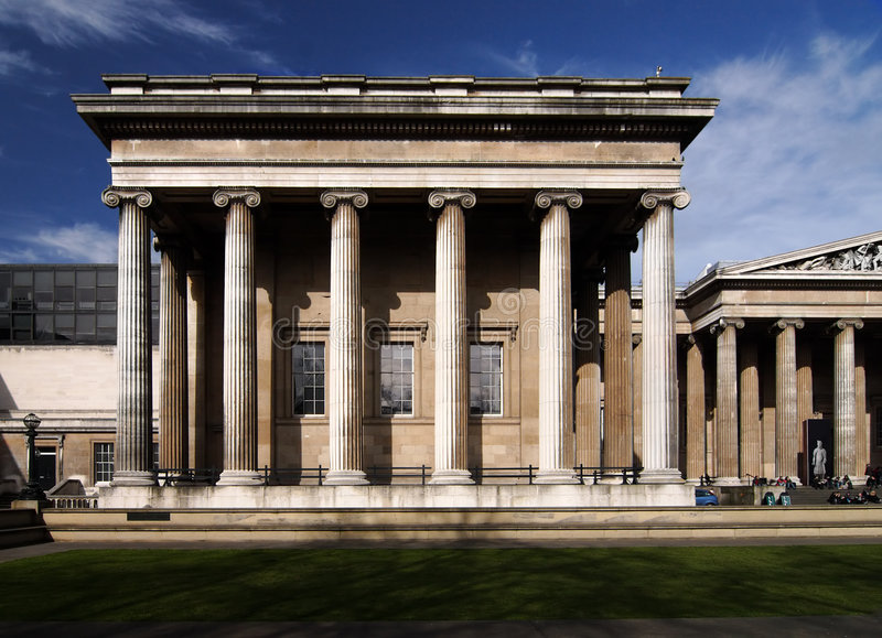 brytyjskie muzeum zdjęcie royalty free