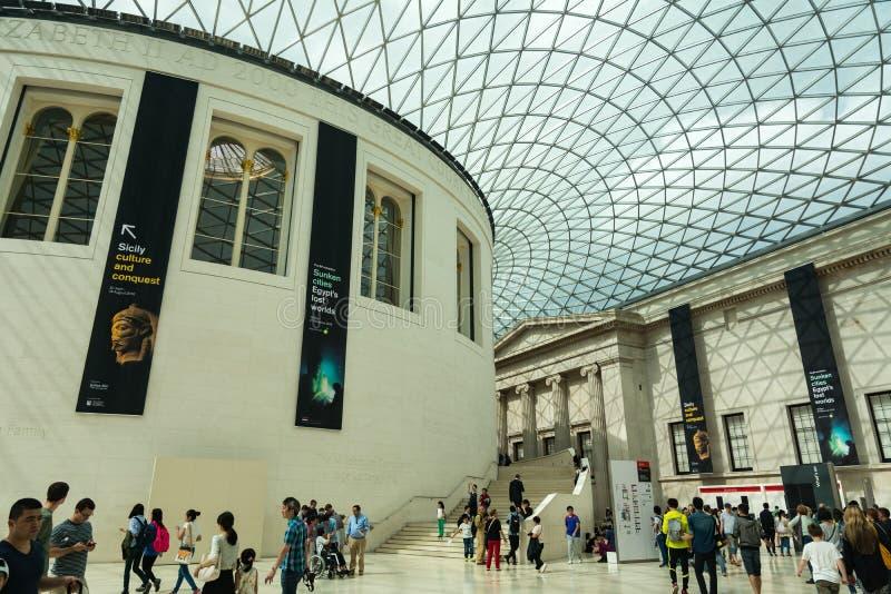brytyjskie muzeum obrazy stock