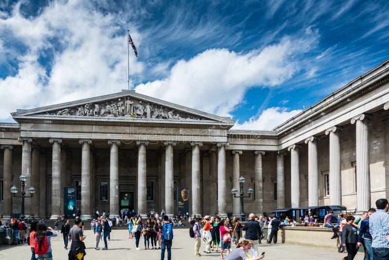 brytyjskie muzeum zdjęcia stock