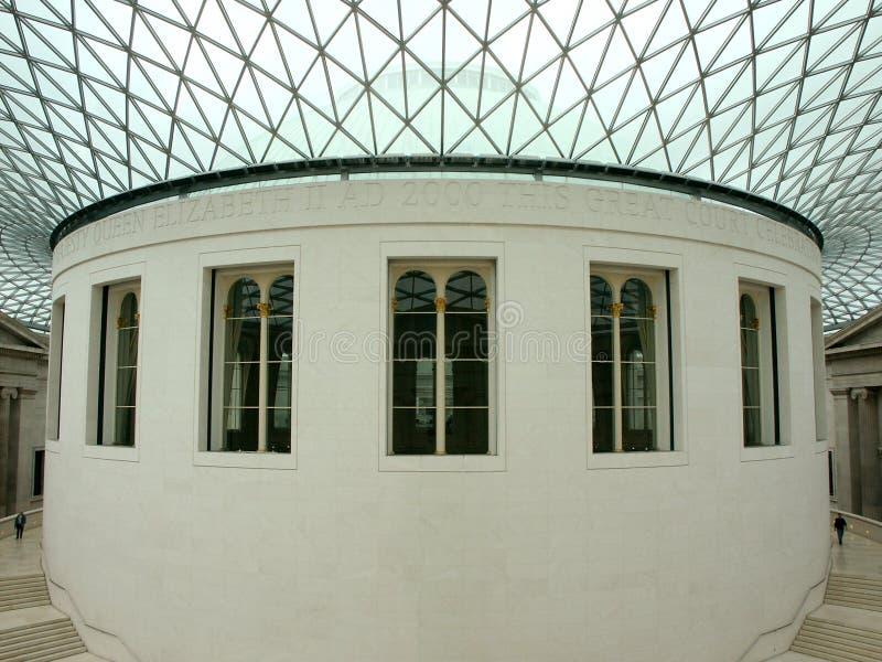 Brytyjskie Muzeum Wewnętrznego Obraz Stock Editorial