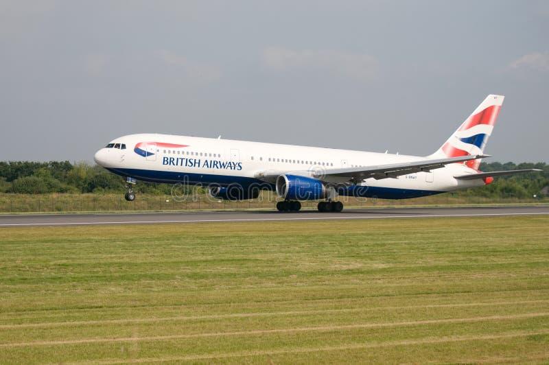 brytyjskie samolot drogi oddechowe zdjęcie royalty free