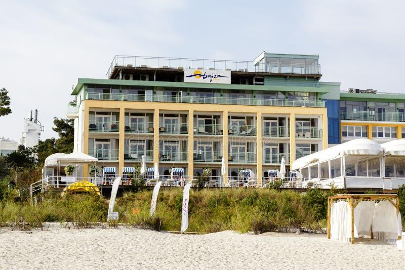 Bryza, luxury hotel in Jurata royalty free stock photos