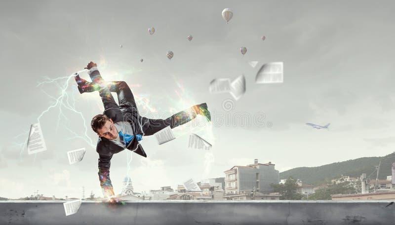 Brzęczenia aktywną życie pozycję obrazy stock