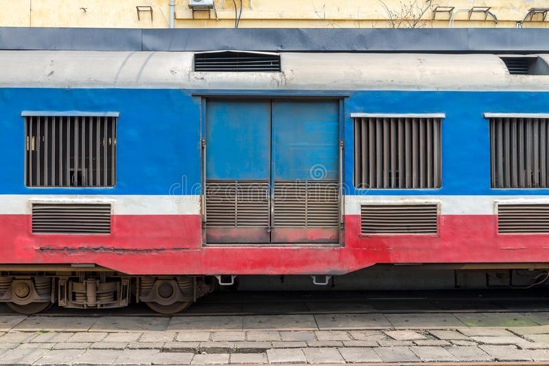 Brzęczenia Noi dworzec, Wietnam Feb 2017 obraz stock