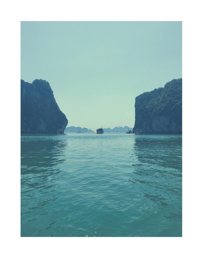 Brzęczenia Tęsk zatoka - Wietnam zdjęcia stock