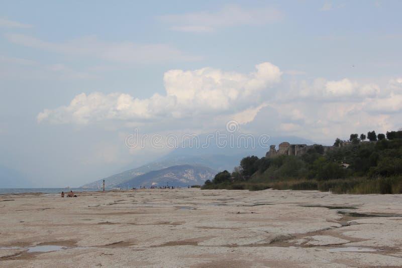 Brzeg Jeziorny Garda obrazy stock