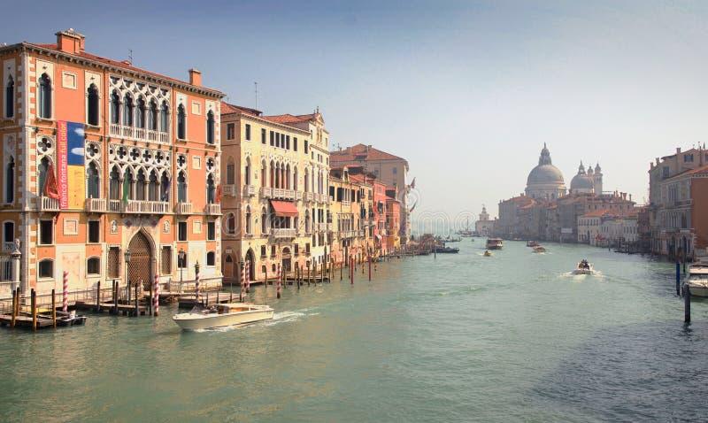 Brzeg rzeki Wenecja fotografia stock