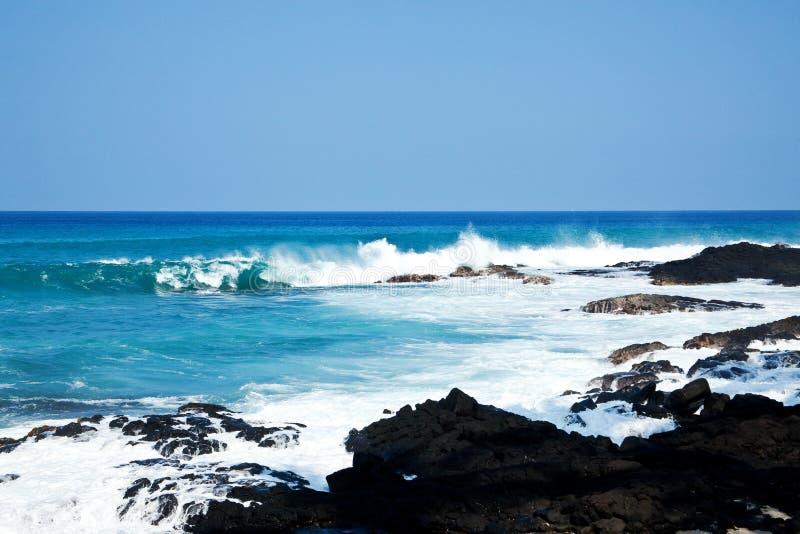 brzegowy Hawaii fotografia stock