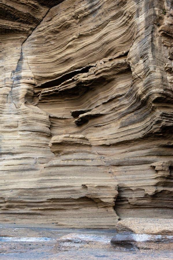 brzegowy Jeju kołysa powulkanicznego yongmeori obrazy stock