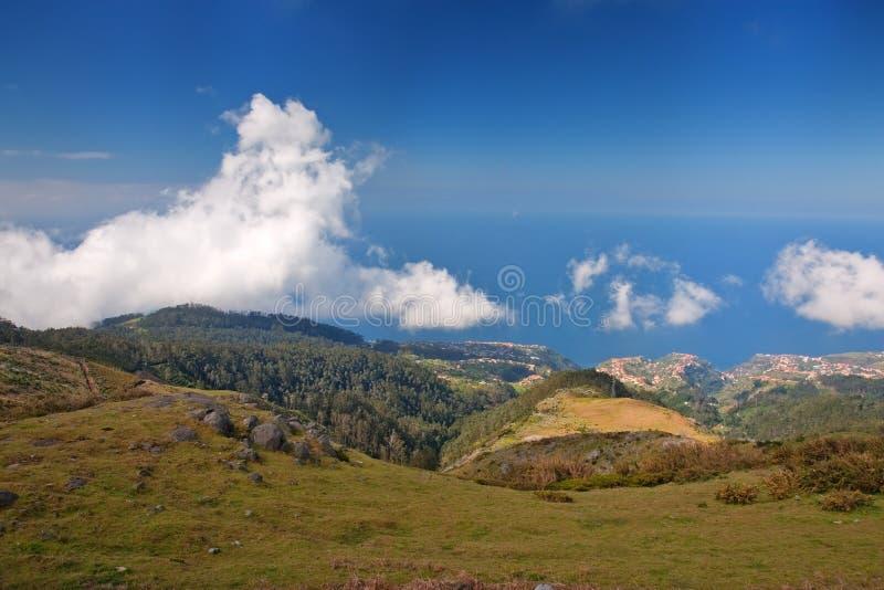 brzegowy Madeira zdjęcia royalty free