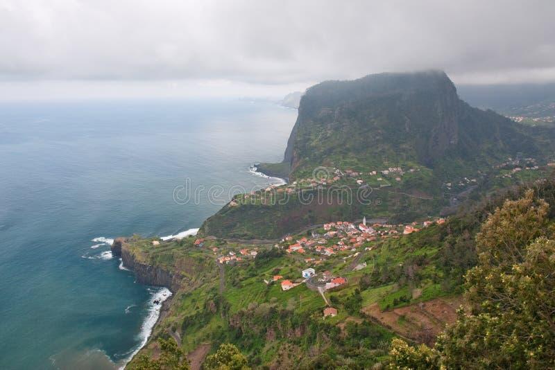 brzegowy Madeira obraz royalty free
