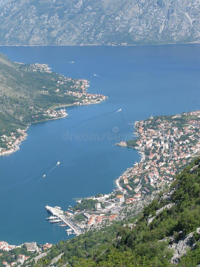 brzegowy Montenegro obrazy royalty free