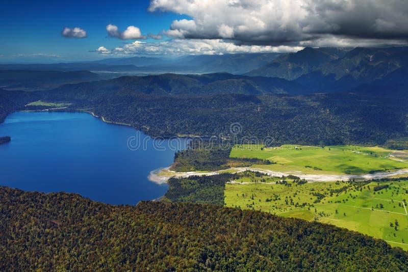 brzegowy nowy zachodni Zealand zdjęcie stock