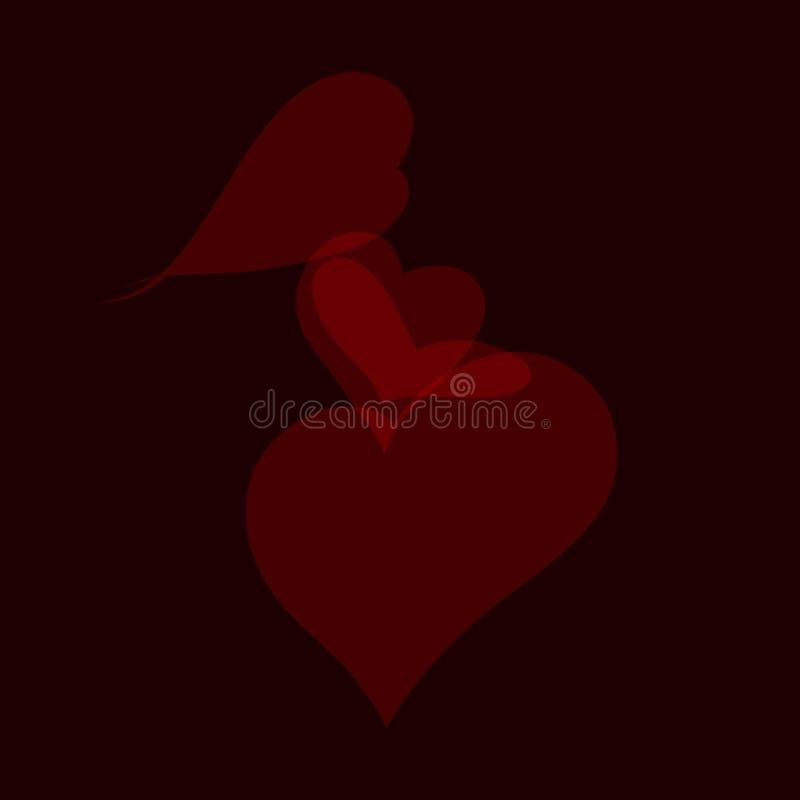 brzemienność i miłość royalty ilustracja