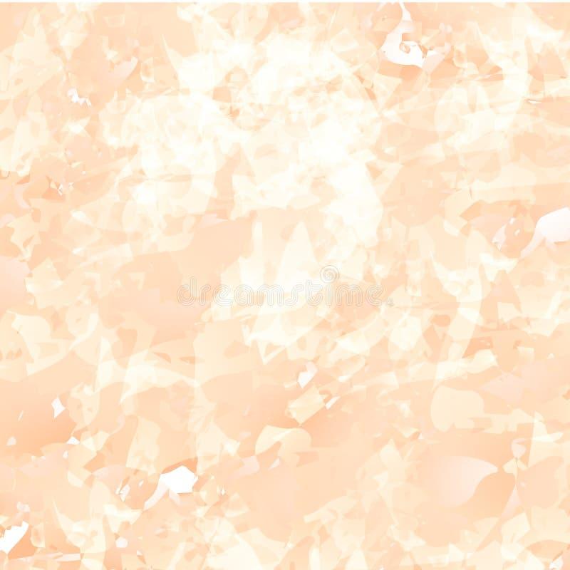 Brzoskwini Marmurowy tło obrazy stock
