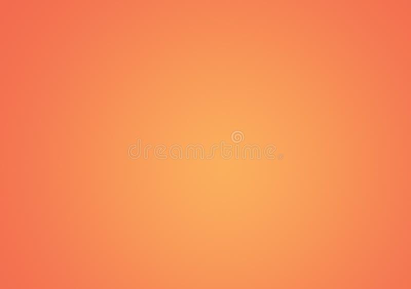 Brzoskwinia koloru projekta gradientowy tapetowy tło ilustracja wektor