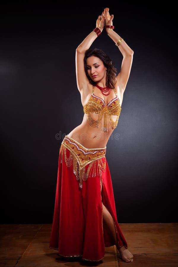 brzucha tancerz zdjęcia stock