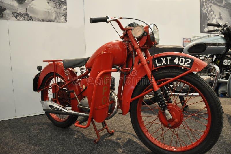 BSA Bantam urzędu pocztowego motocykl zdjęcia stock
