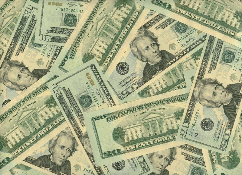 bsckground货币 库存图片