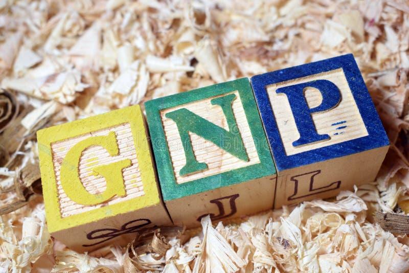BSP-Text auf Holzklotz lizenzfreies stockbild