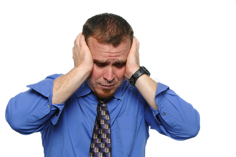 Download Bssinessman under stress stock photo. Image of salesman - 3205912
