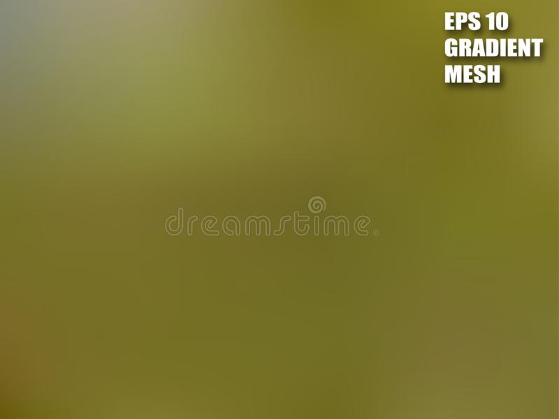 Аbstract artistic color blend. Fluid color. Mesh gradient background. Bstract artistic color blend. Fluid color. Mesh gradient background. Shades of khaki stock illustration