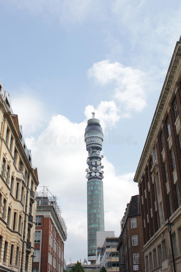 Download BT Tower stock photo. Image of street, aerial, dishes - 14173600