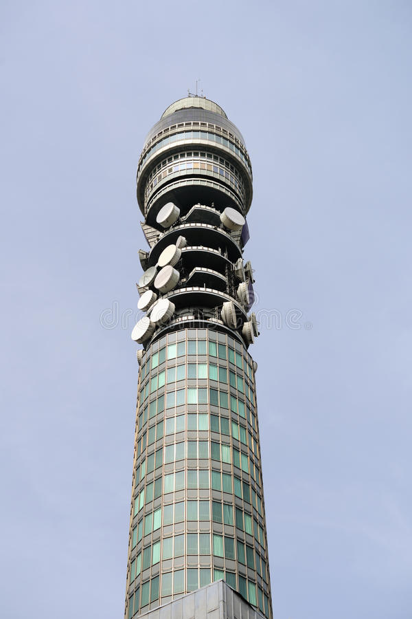 BT Tower (aka Post Office Tower, Telecom Tower) Stock Photo