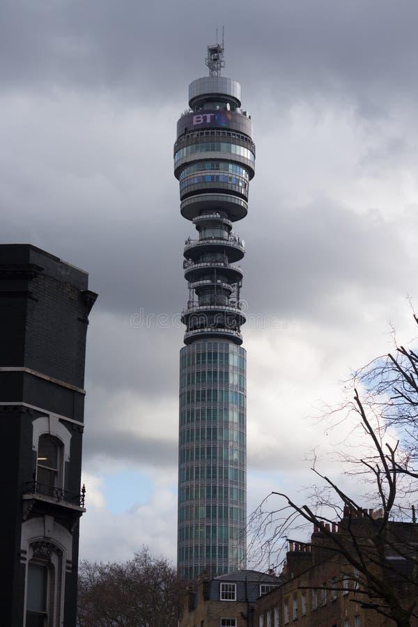BT Tower communications stock photos