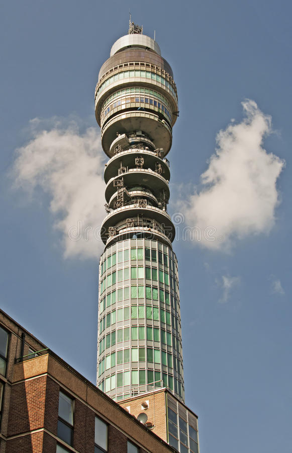 BT Tower, London stock photo