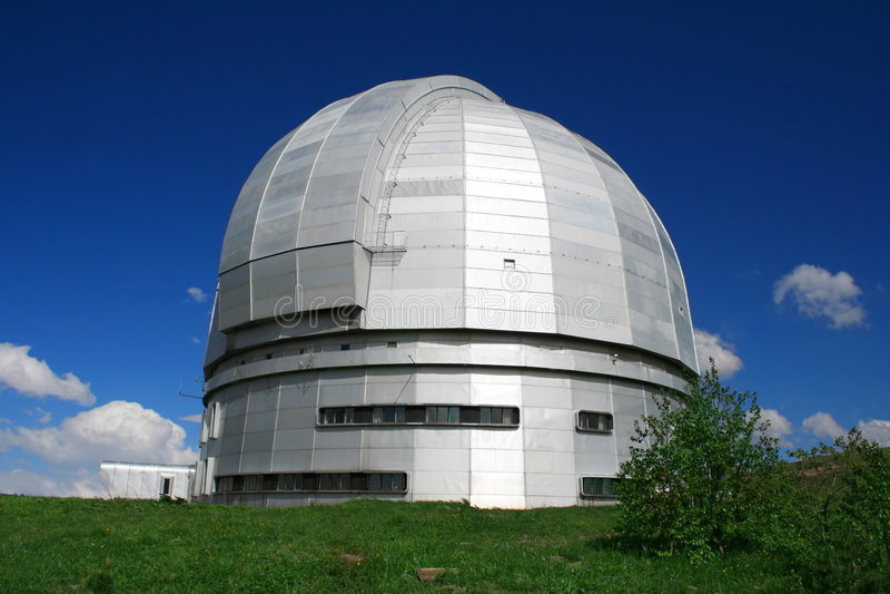 BTA (grand télescope Asimut) photographie stock