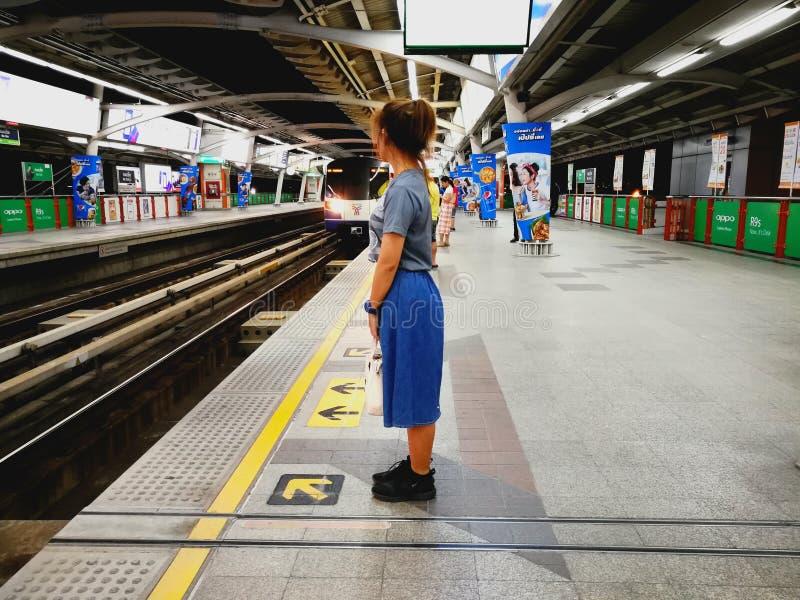 BTS Skytrain стоковое изображение