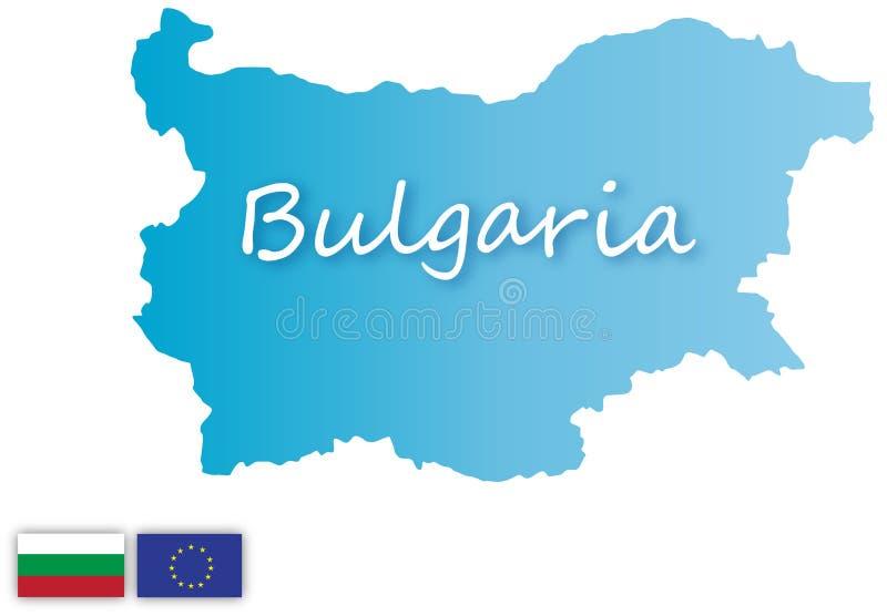 Bułgaria royalty ilustracja