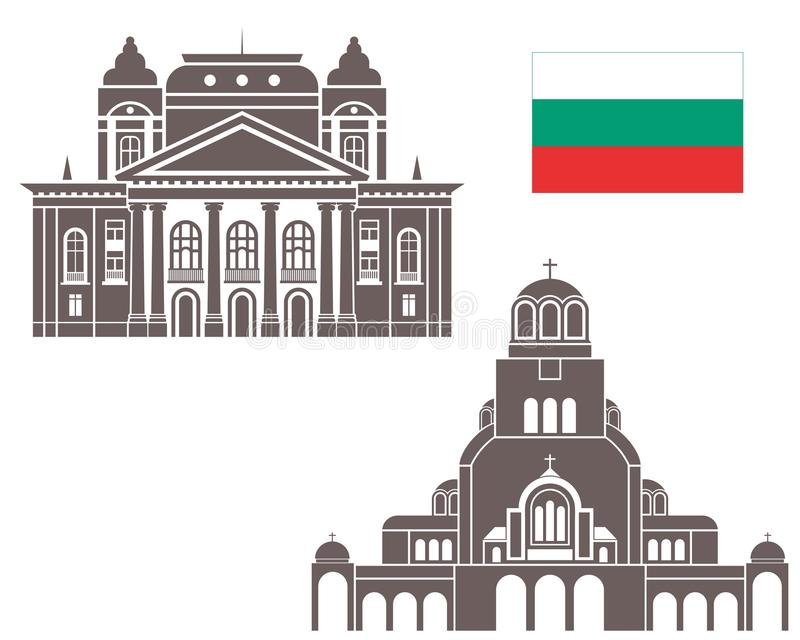 Bułgaria ilustracja wektor