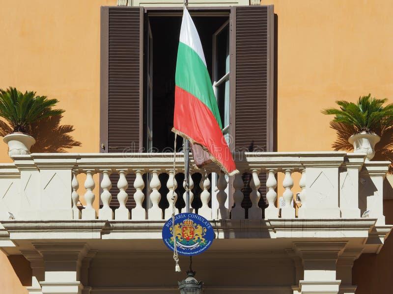 Bułgaria konsulat w Bologna obraz stock